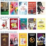 TOP 5 des livres les plus empruntés en 2019