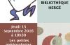 Les petites météorologies d'Anne Herbauts : balade littéraire – Jeudi 15 septembre 2016 à 18h30 (LIVRES, COUPS DE COEUR, CATALOGUE, PHOTOS)