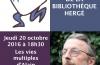 Les multiples vies d'Alain Lallemand : balade littéraire – Jeudi 20 octobre 2016 à 18h30 (LIVRES, COUPS DE COEUR, PHOTOS)