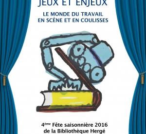 Jeux et enjeux : le monde du travail en scène et en coulisses – Jeudi 15/12 à 18H30 (conférence) et Samedi 17/12 À 15h (spectacles)