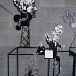 Noir animal : installation de Frédéric Penelle – Du mardi 3 au samedi 28 septembre 2019