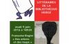 Des arbres et des loups : balade littéraire avec Françoise Rogier &#8211; jeudi 9 juin 2016 à 18h30<br>(LIVRES, COUPS DE COEUR, CATALOGUE, PHOTOS)