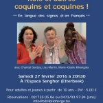 Rois et autre coquins et coquines : contes «de mains et de mots» – Samedi 27 février 2016 à 20h30 à l'Espace Senghor