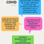 COVID-19 : Nouvelles règles à partir du 16 juin 2021