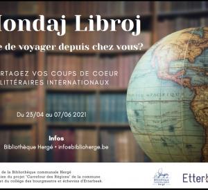 Mondaj Libroj : livres du monde – du vendredi 23 avril au lundi 7 juin 2021